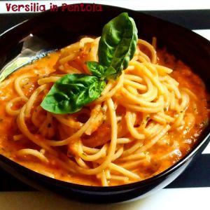 Spaghetti alla Rustica Cruda di Minazzana